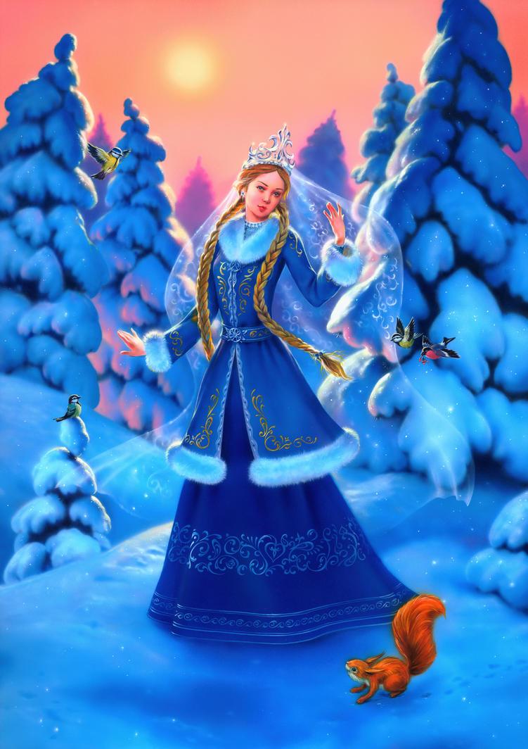 Snowgirl by EldarZakirov