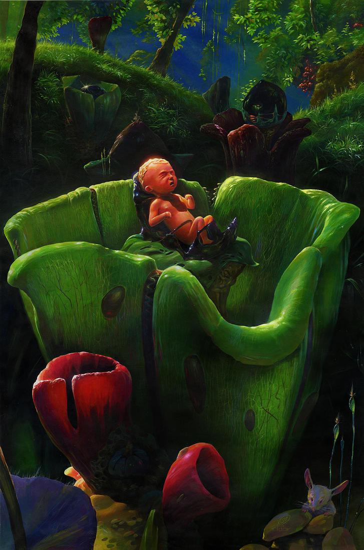 Birthday in flower by EldarZakirov