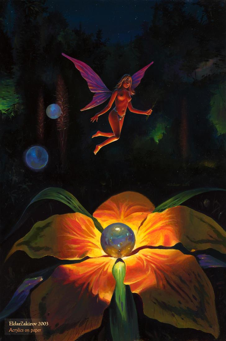 Fairy of Flowers by EldarZakirov