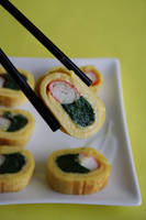 Omelette Sushi by neongeisha
