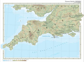 The Kingdom of Wessex, 1895 by procrastinating2much
