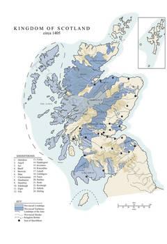 Kingdom of Scotland, c. 1405