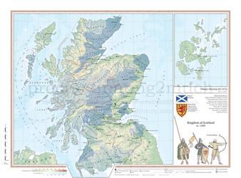 Kingdom of Scotland in 1286 by procrastinating2much