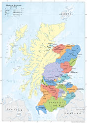 Map of Medieval Scotland