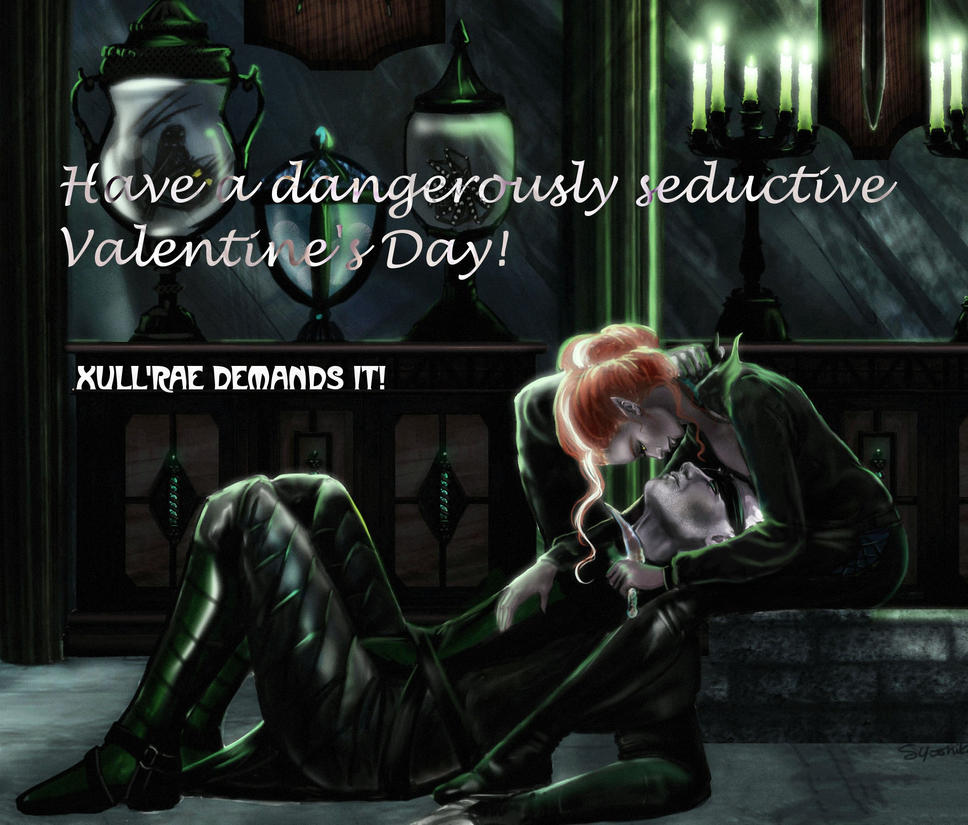 Xull'rae sends you Valentine's Greetings! by XullraeZauviir