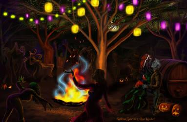 A Warm Halloween Wish 2013 by XullraeZauviir