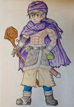 Dragon Quest V hero