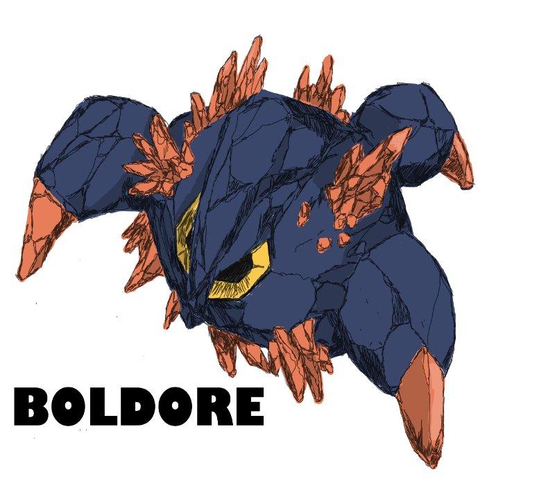 Pokemon Boldore Evolution Images   Pokemon Images