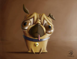 D. Pug by TheDude-In-NavyBlue