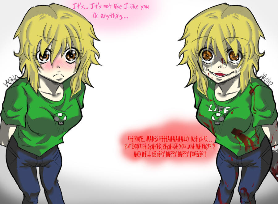 tsundere_or_yandere____by_vma3 tsundere or yandere by vma3 on deviantart