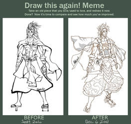 Before and After MEME: Shou Hiroaki by VMa3