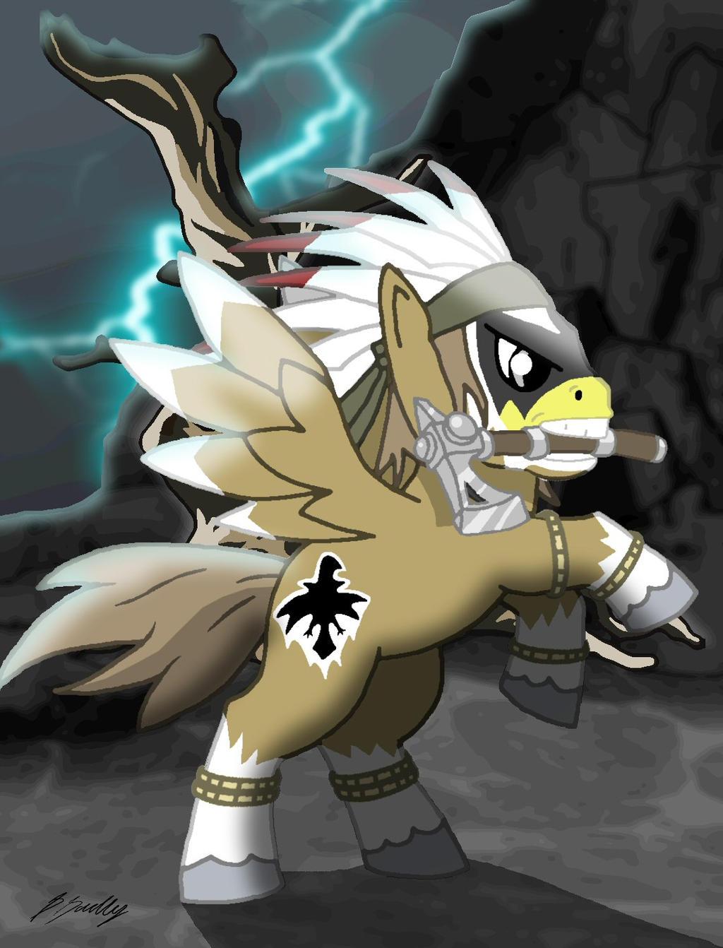 Thunder Pony by Algahiem3