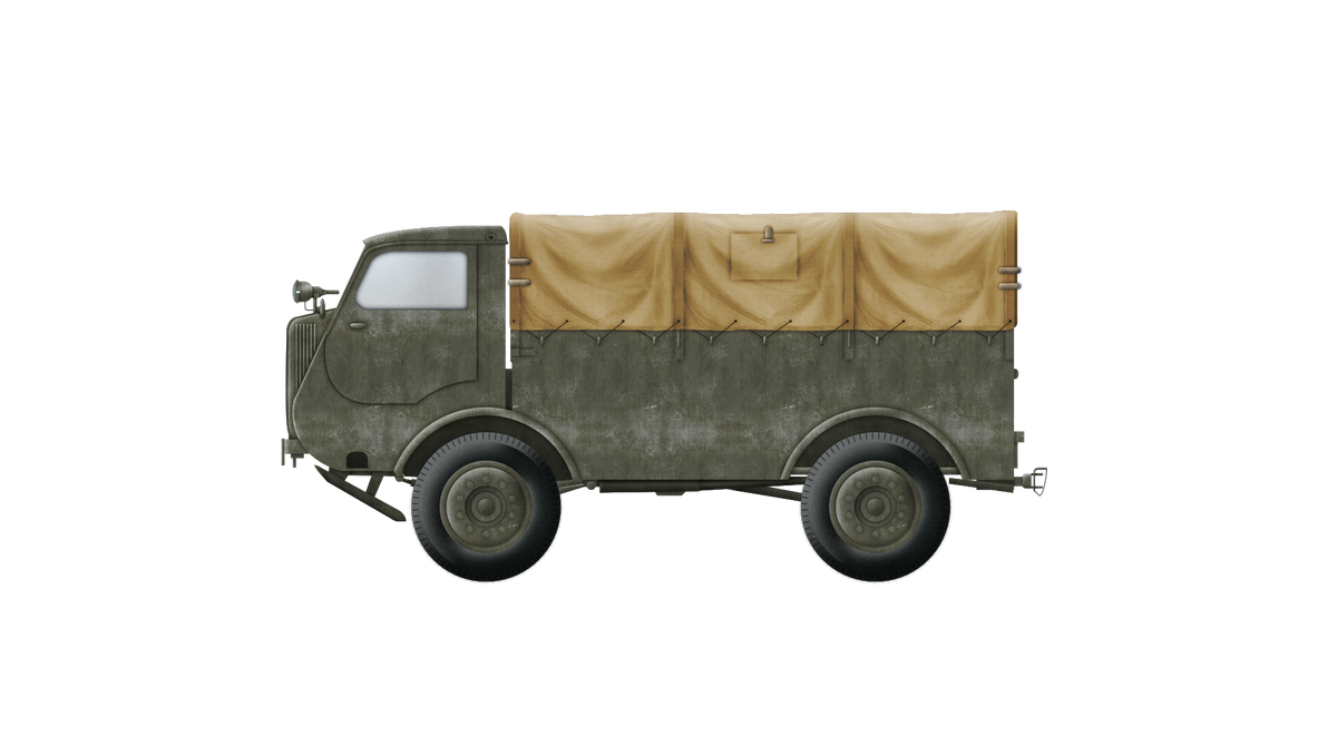 Artillery Tractor - C4P wz. 40 (PZInz 343) by Escodrion