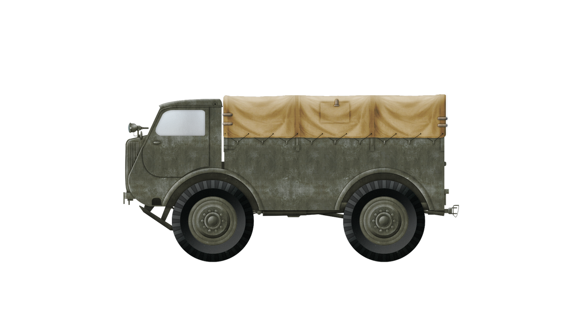 Artillery Tractor - C5P (PZInz 342) by Escodrion