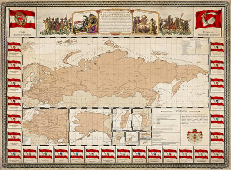 Map and Flag Chart of the Commonwealth