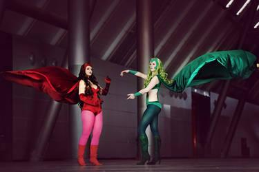 Marvel ~ Sisters by Daiyame