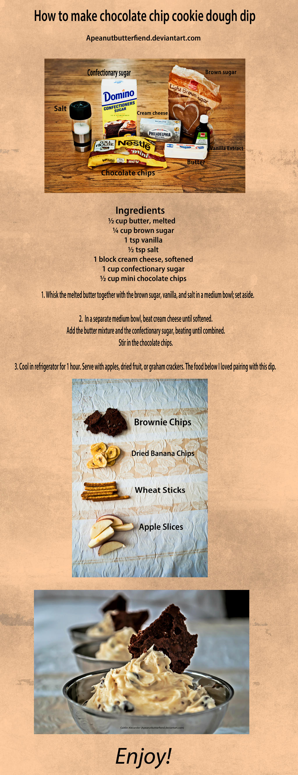 Cookie Dough Dip walkthrough by Apeanutbutterfiend