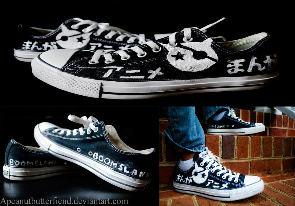 BoomSlank shoe commission II by Apeanutbutterfiend