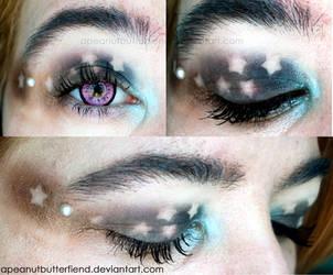*~ Starry makeup~* by Apeanutbutterfiend