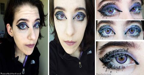 Lace Eye Makeup by Apeanutbutterfiend