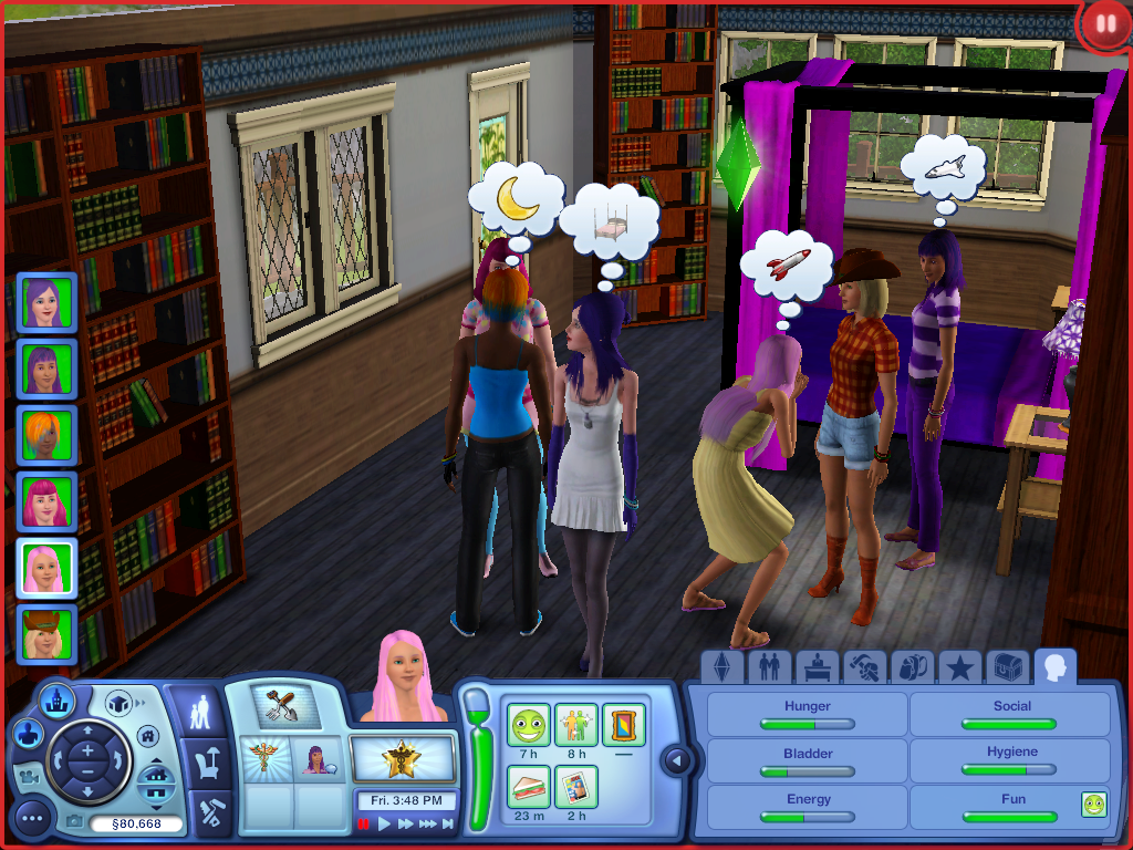 my little pony mane 6 sims 3 by composerseverus on deviantart