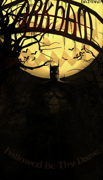 Batman: Hallowed Be Thy Name by Borruen