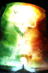 The Ascension Of Enoch by Borruen