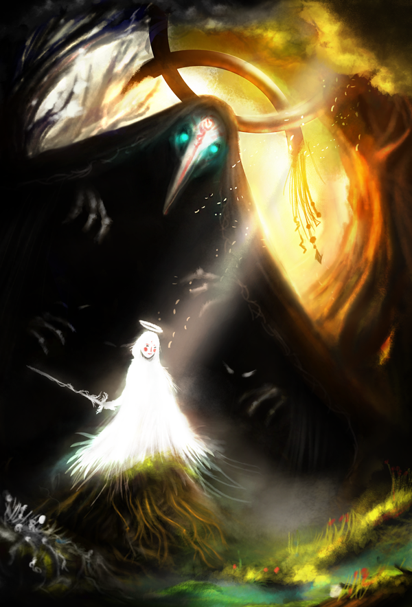 Amakudari and The Owl King by Borruen