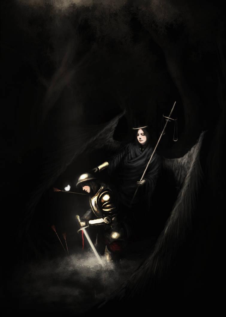 Sir Gawain and The Black Aria by Borruen
