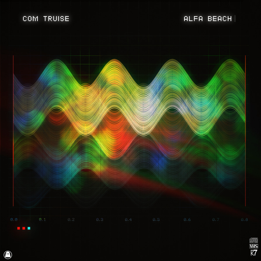 Com Truise - Alfa Beach by Borruen