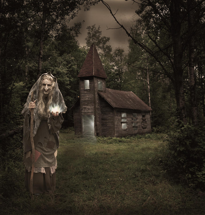 The witch by Adeleene