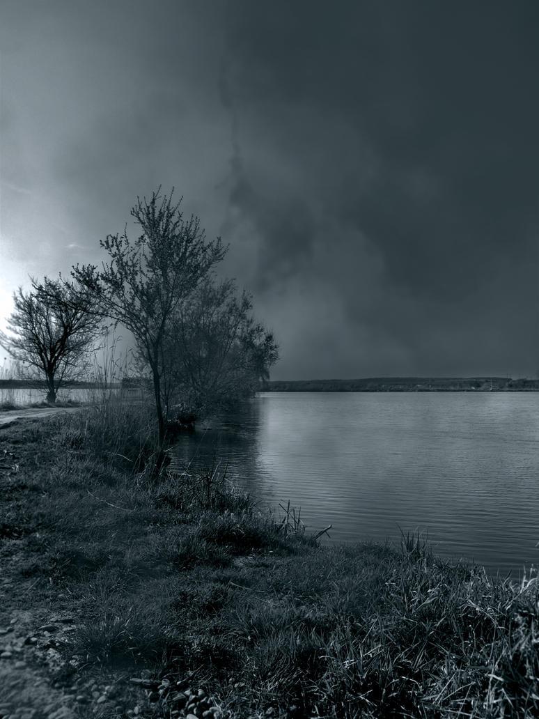 Lake by Adeleene