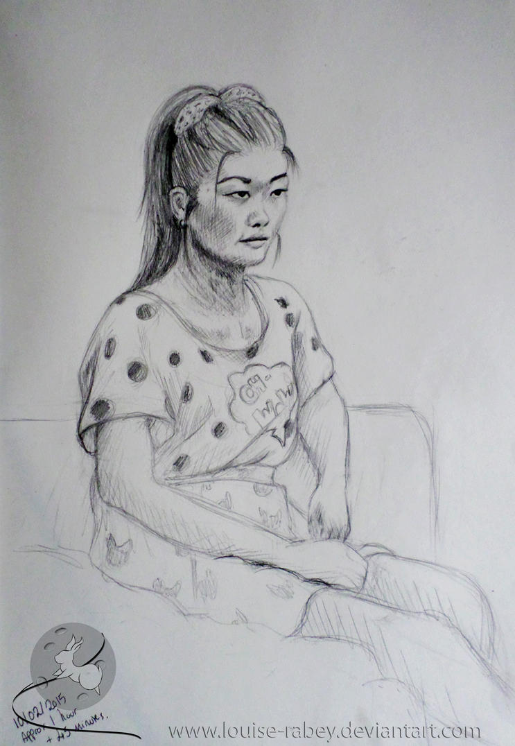 Portraiture study 001 by louise-rabey