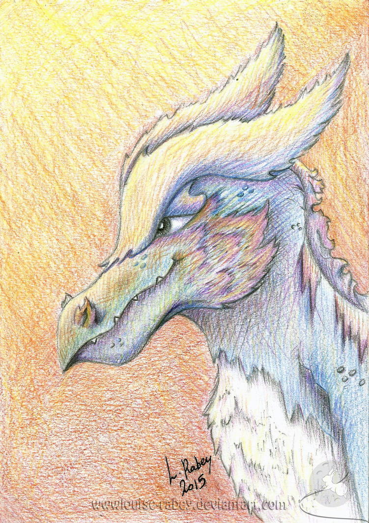 #02 Dragon-Griffon Creature by louise-rabey