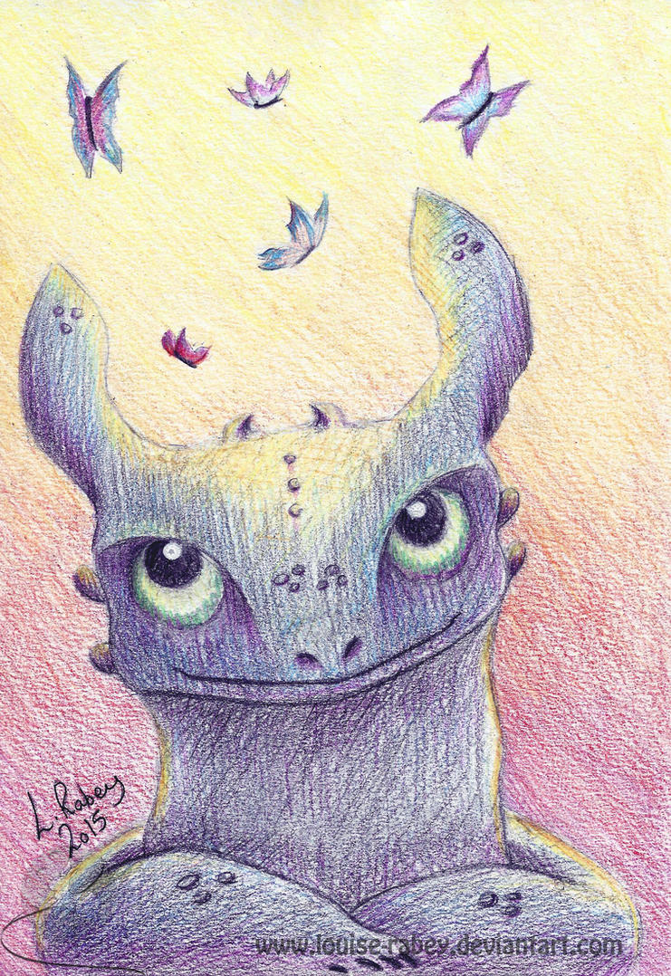 #03 Toothless by louise-rabey