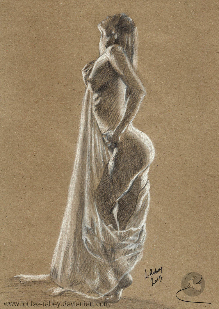 Life Drawing #12 by louise-rabey