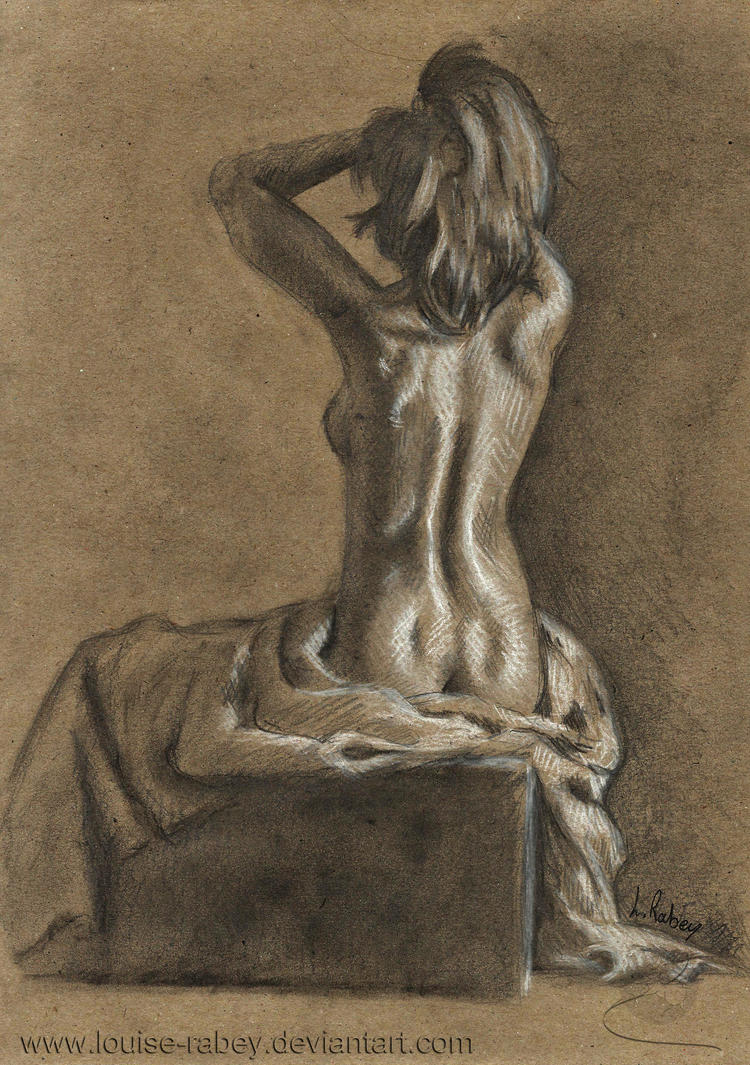 Life Drawing #13 by louise-rabey