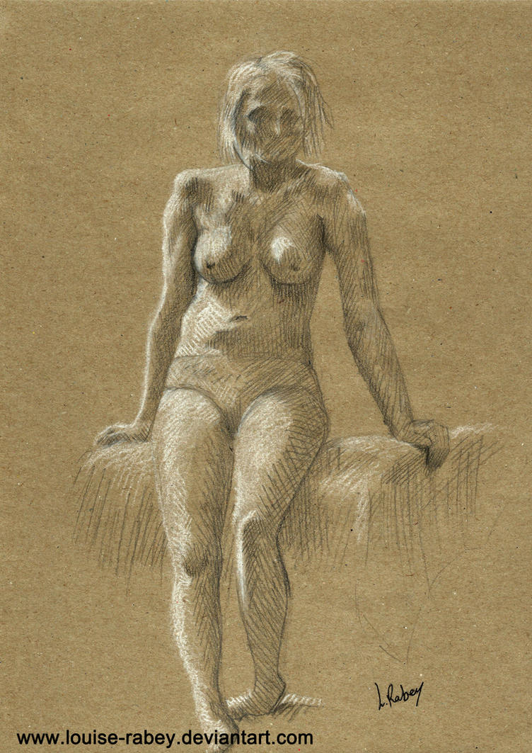 Life Drawing #14 by louise-rabey
