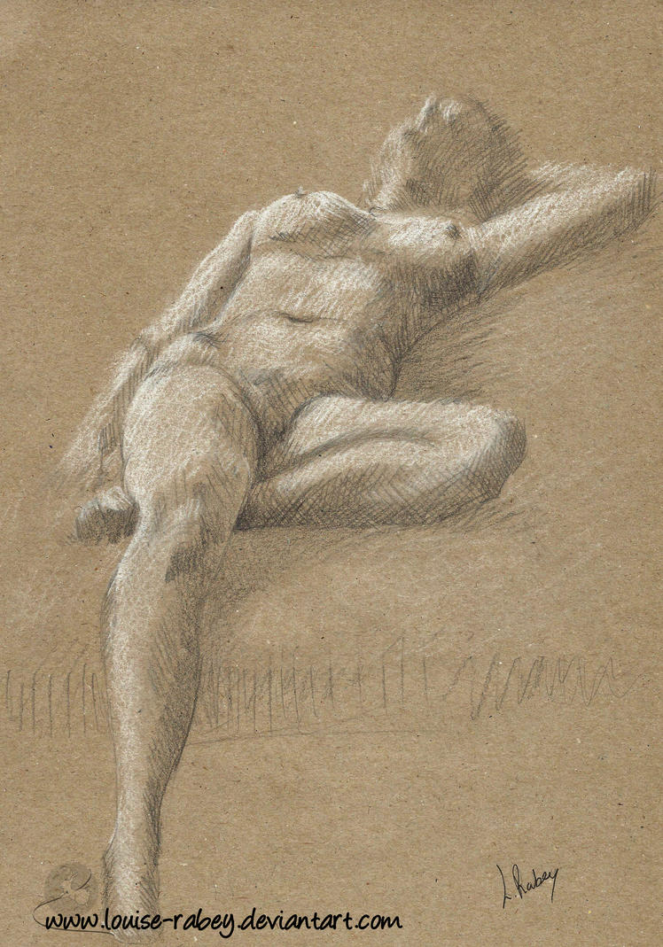 Life Drawing #15 by louise-rabey