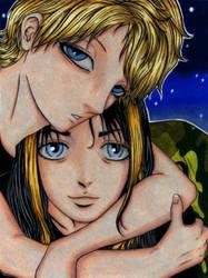 Anime Sam+Vala by miserable-dreamer