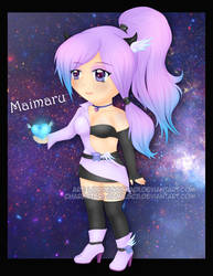 Maimaru Chibi - Point Commission by LordessSkadi
