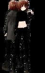 MMD models Chara Underworld AU [DL+]