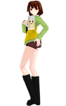 MMD model Drunk Chara (Shorts) [DL+]