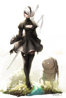 Nier Automata by STEVE-Zheng