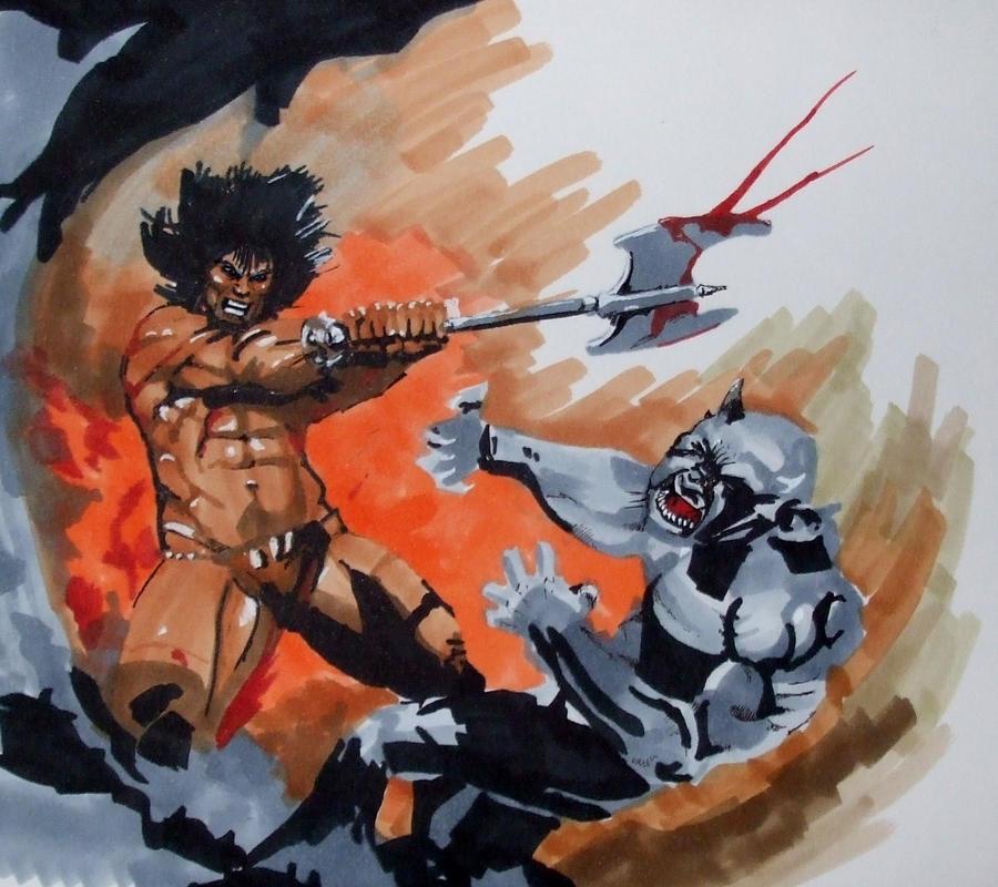 Frank Frazetta Conan Wallpaper