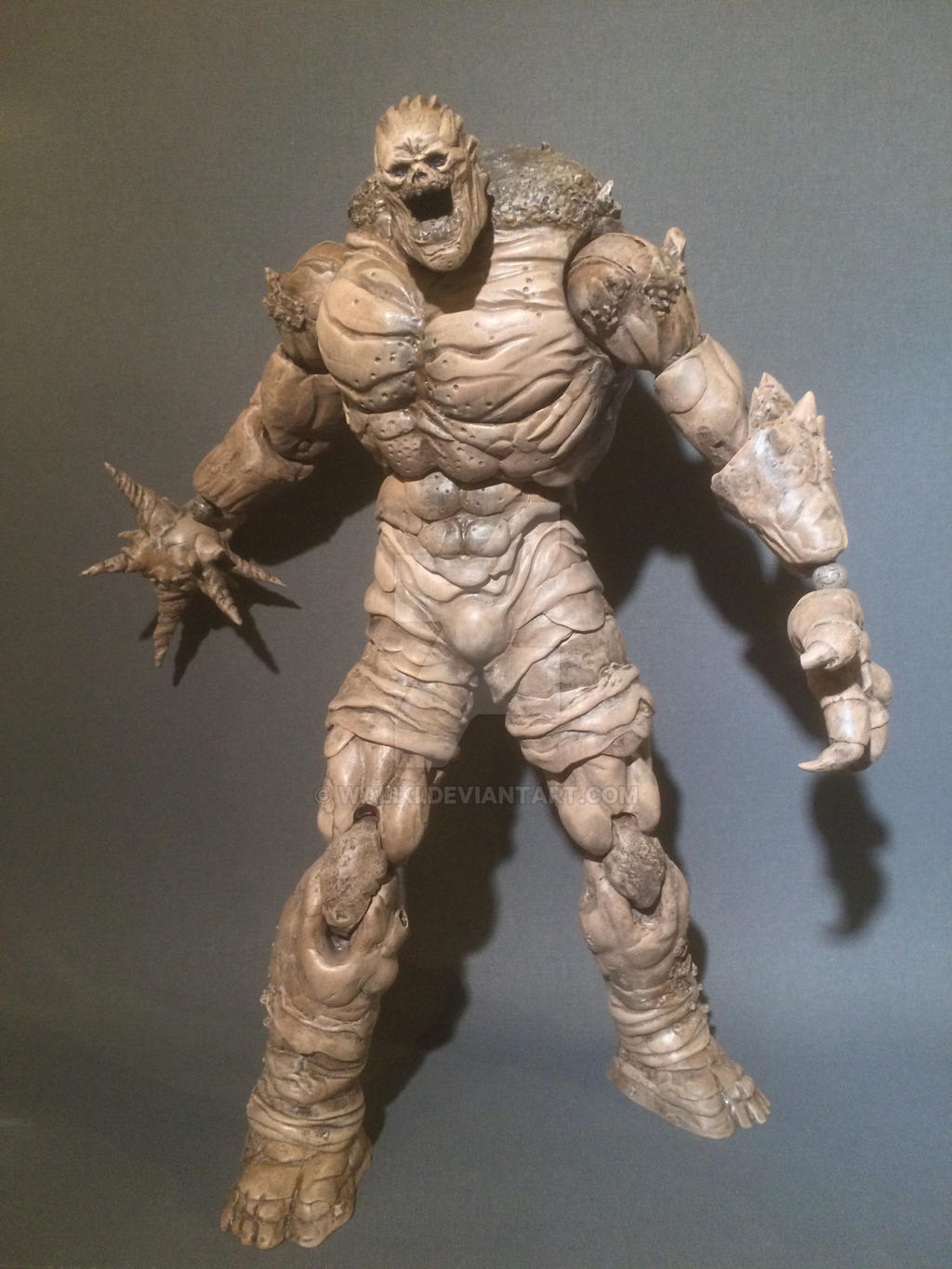 Custom Batman Arkham City Clayface figure by Waliki on ...