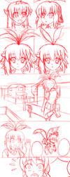 Akira's Nightmare (Sketchy) by ShuffledYandere