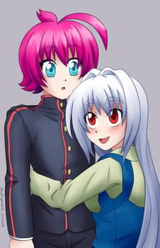 Mayu and Kiba (NOT CANON)