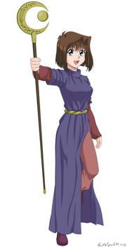 Anzu/Tea Magician of Faith