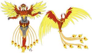 Transformers Oc: FlameBird